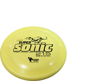 Дог-фризби Hero SuperSonic Taffy Yellow